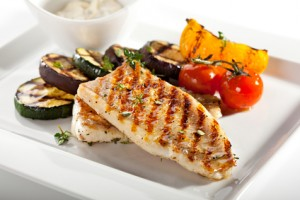 Grilled Fish & Vegetables
